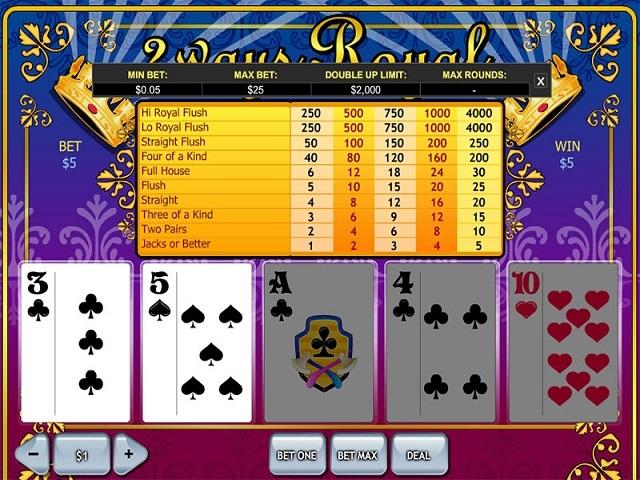 2 Ways Royal Slot