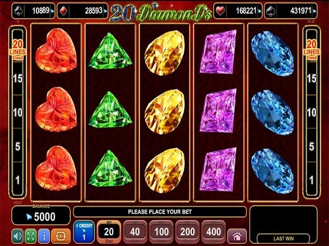 20 Diamonds Slot