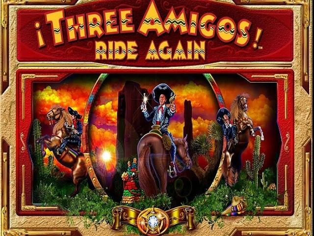 3 Amigos Slot