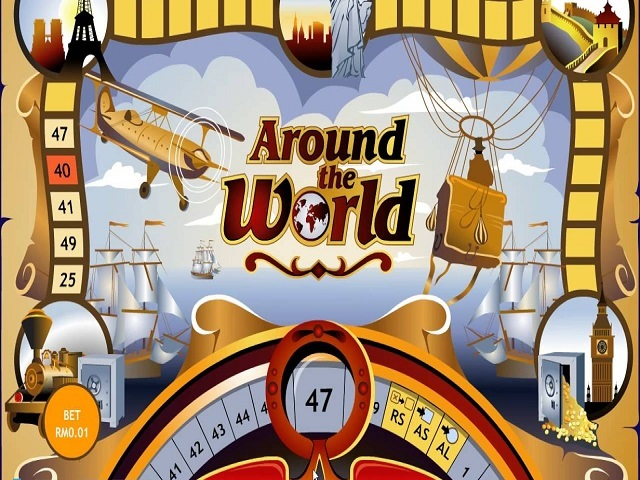 Around The World by Playtech Slot