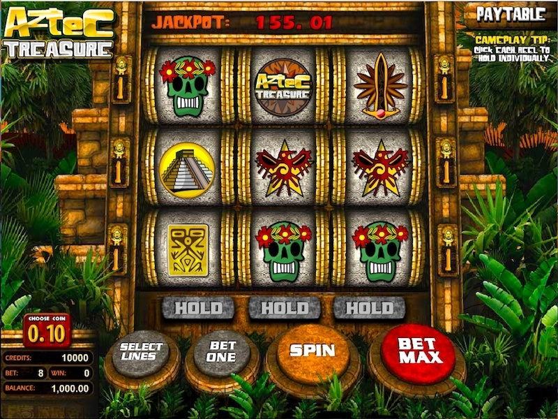 Aztec Treasure 2D Slot