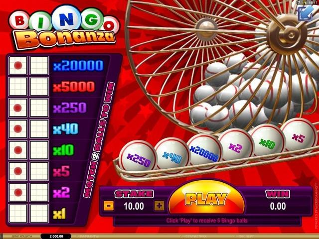 Bingo Bonanza Slot