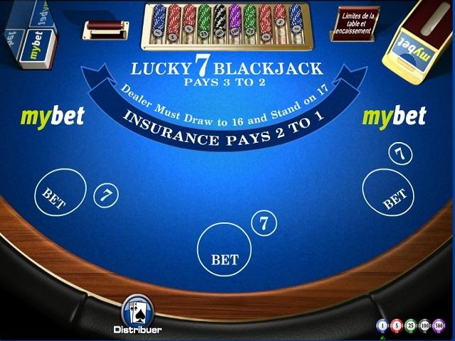 Blackjack Lucky Sevens Slot
