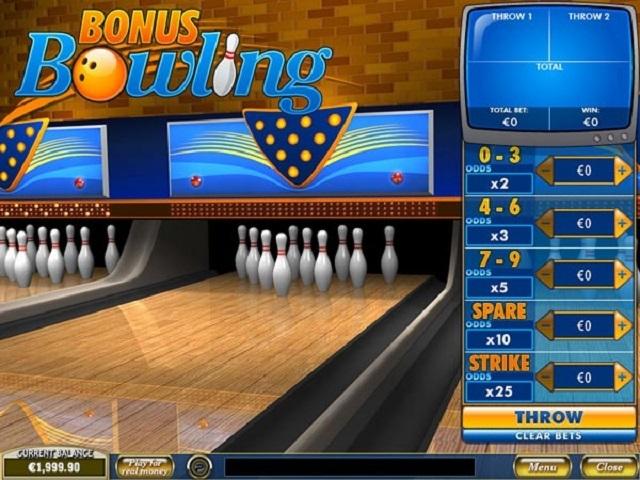 Bonus Bowling Slot