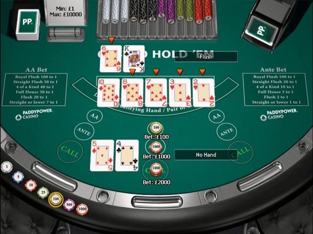 Casino Hold'em by Playtech Slot
