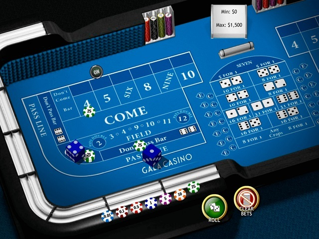 Craps by Playtech Slot