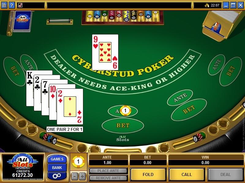 Cyber Stud Poker Slot