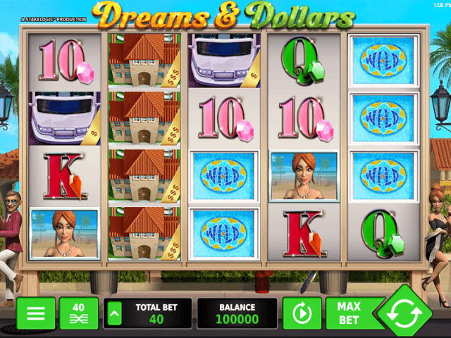 Dreams And Dollars Slot