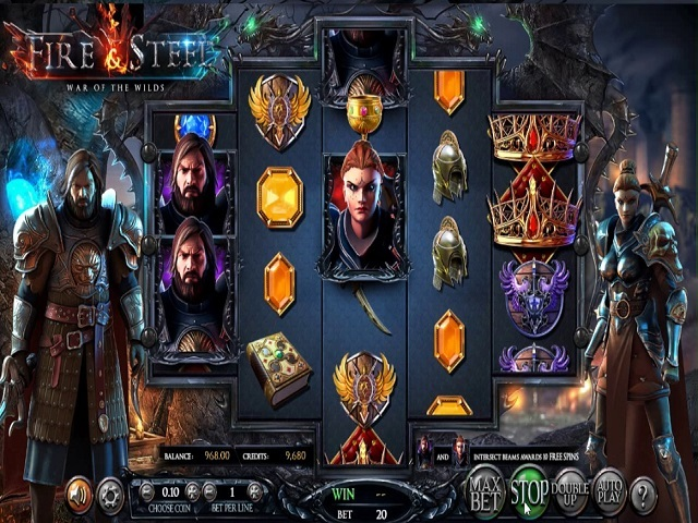 Fire And Steel War Of The Wilds Slot