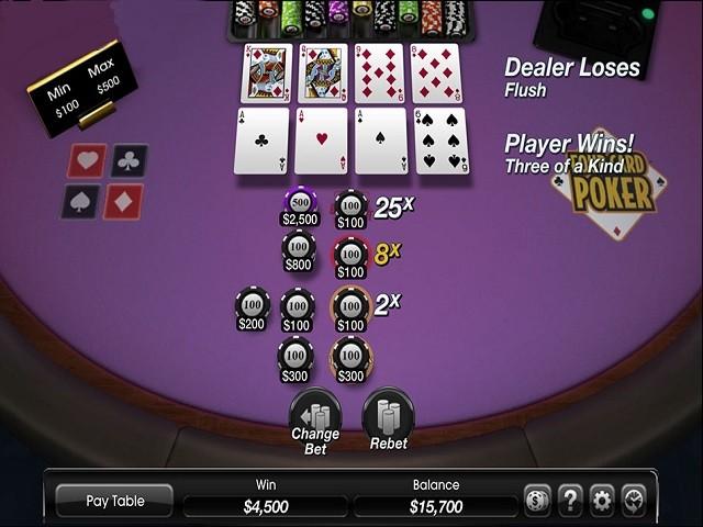 Four Card Poker Slot