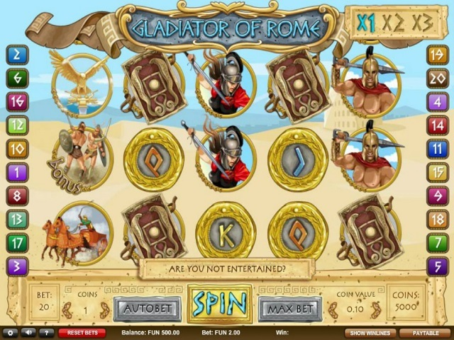 Gladiators Of Rome Slot