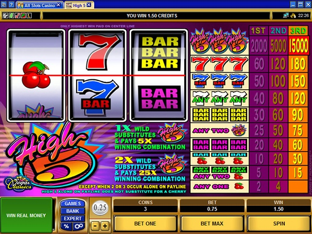 High Five by Microgaming Slot
