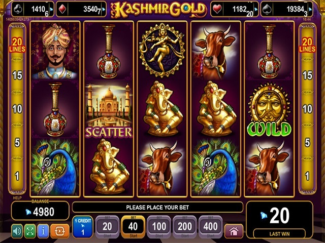 Kashmir Gold Slot