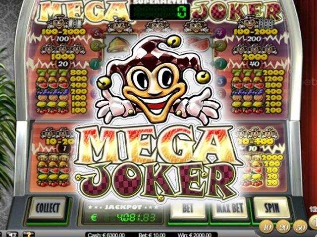 Mega Joker by Netent Slot