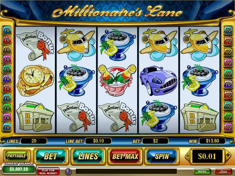 Millionaire's Lane Slot