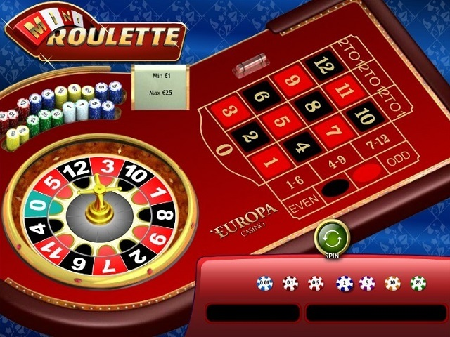 Mini Roulette by Playtech Slot