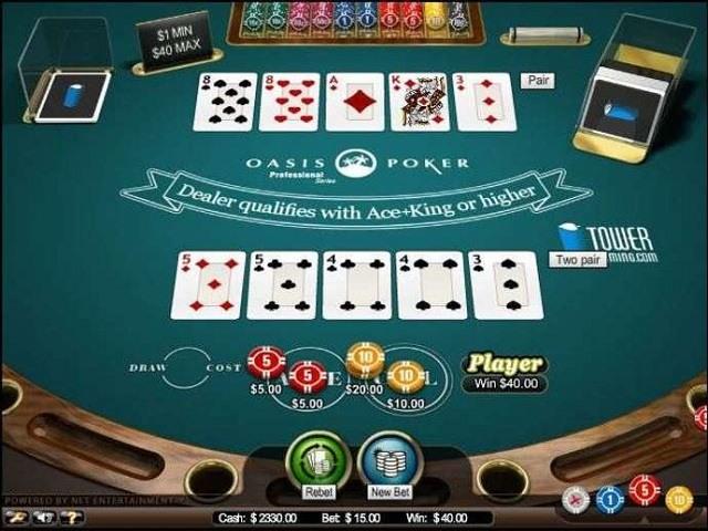 Oasis Poker Slot