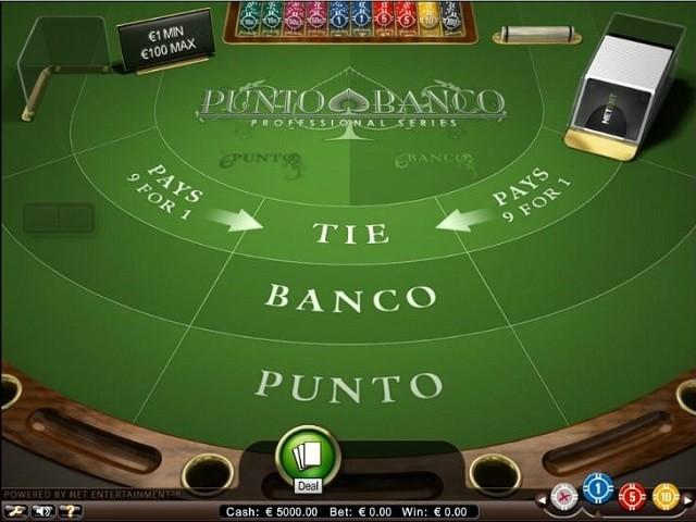 Punto Banco Pro Series Slot