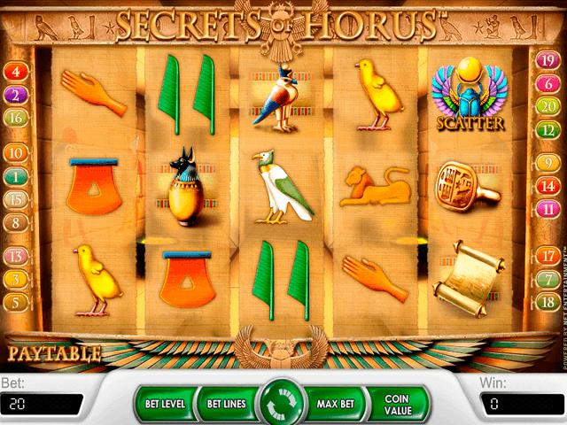 Secrets Of Horus Slot