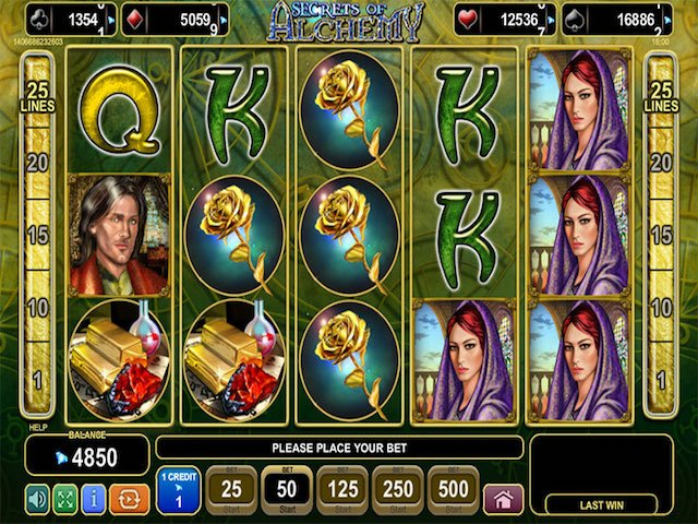 Secrets of Alchemy Slot