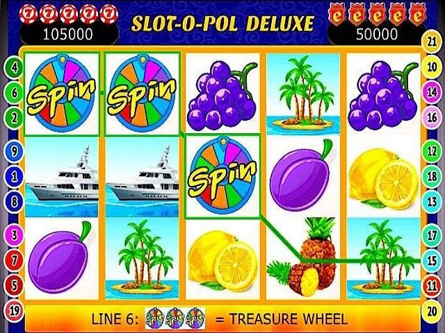 Slot-O-Pol Deluxe Slot