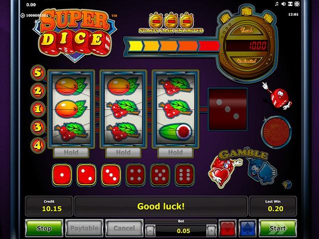 Super Dice Slot