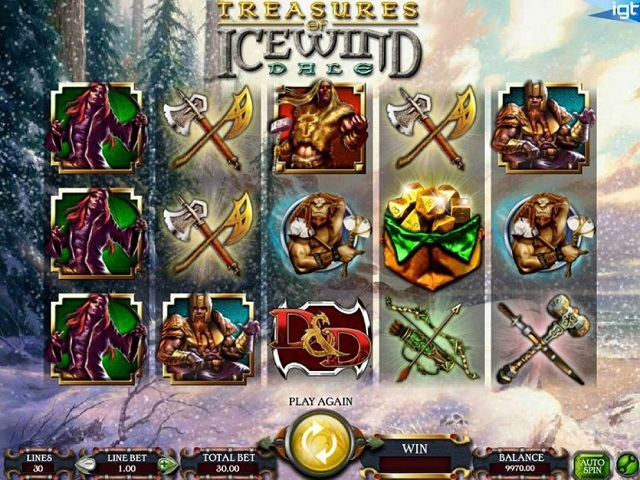 Treasures Of Icewind Dale Slot