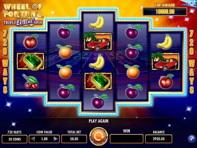 Wheel Of Fortune: Triple Extreme Spin Slot