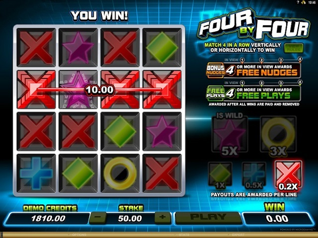 Four By Four Slot