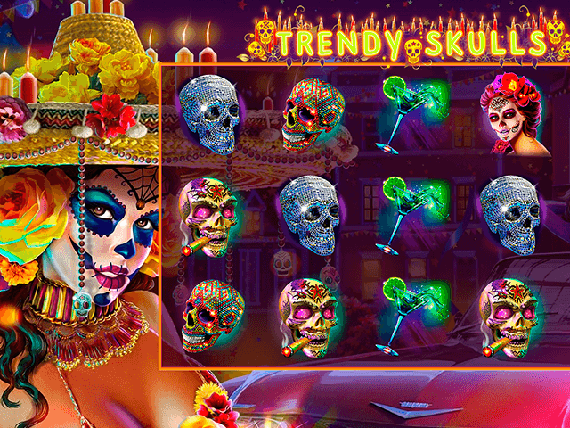 Trendy Skulls Slot