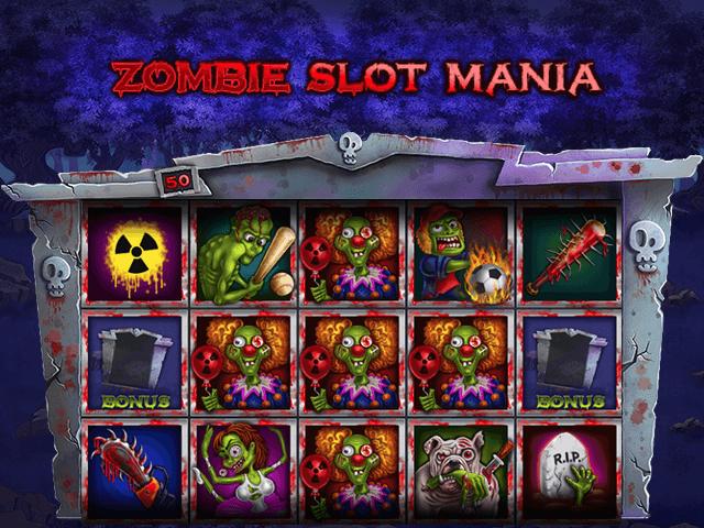 Zombie Slot Mania Slot