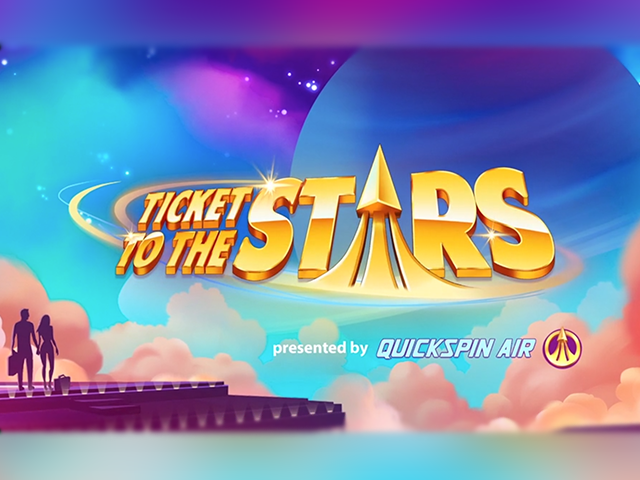 Quickspin Launches New Ticket To The Stars Slot