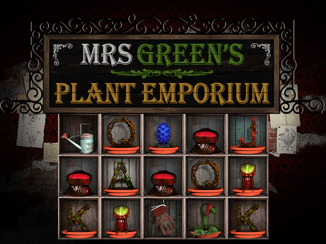 Mrs Green's Plant Emporium Slot
