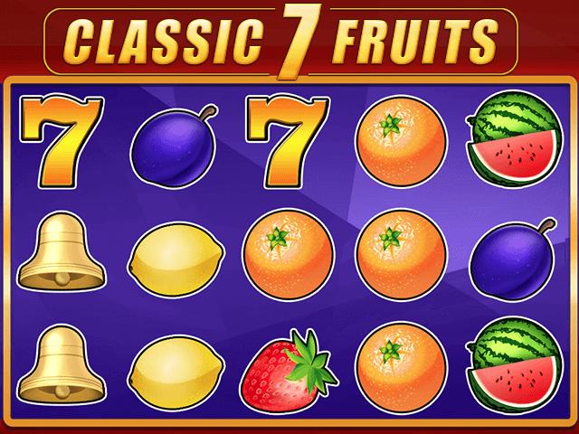 Classic 7 Fruits Slot