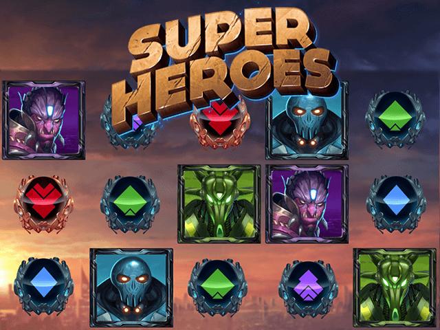 Super Heroes No Download Slot